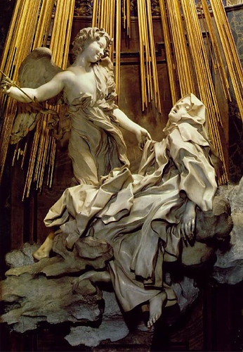 Bernini - The Ecstasy of St Theresa (1) #1ab