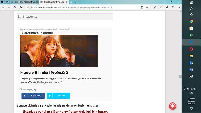 Hermione test