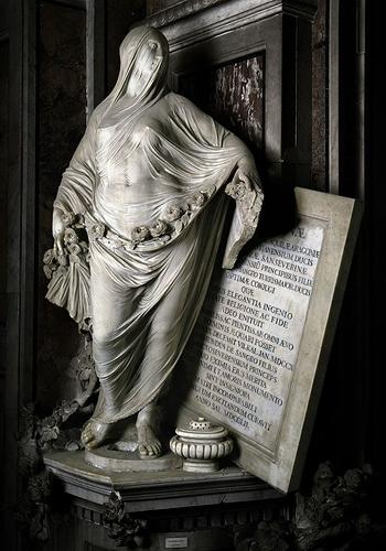 Modesty - Antonio Corradini - 1752