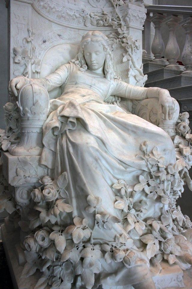 Sleeping Beauty (Dornröschen) - Louis Sussmann-Hellborn - 1880
