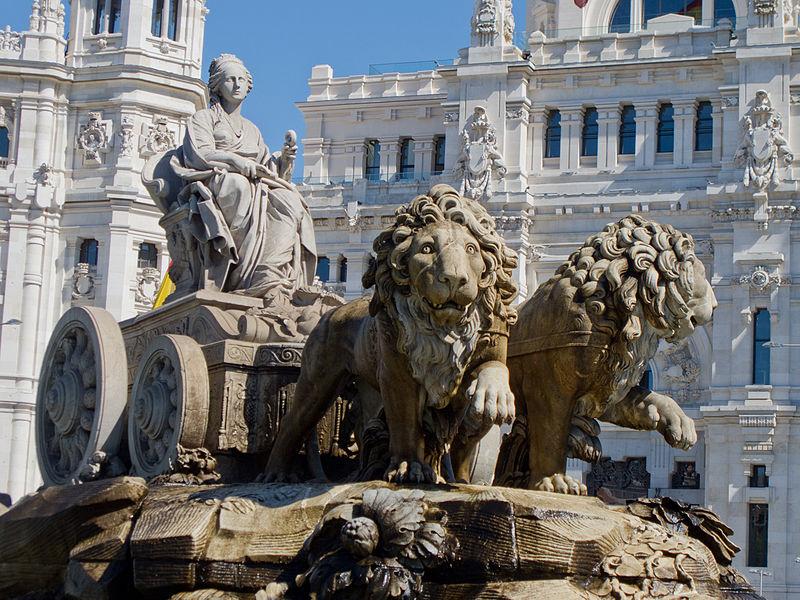 Fountain of Cybele, Madrid, Spain